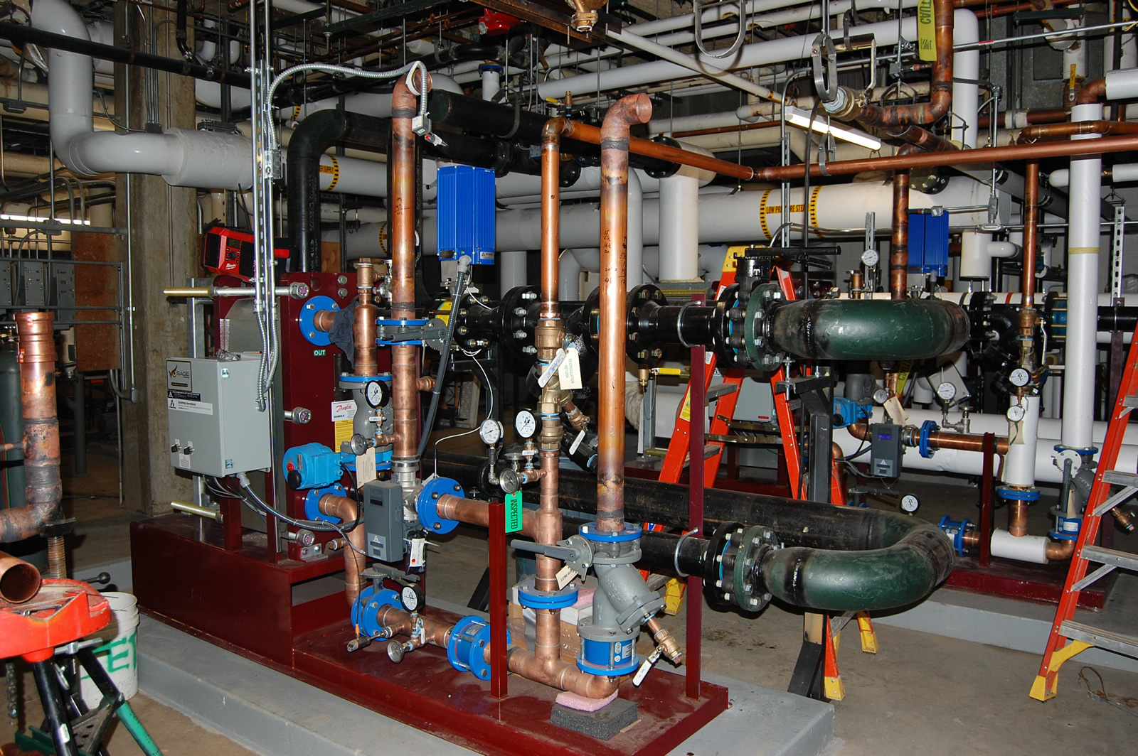 Nasseff Mechanical Contracting - Plumbing Project